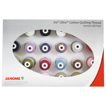 Janome Iris Quilting Thread Set