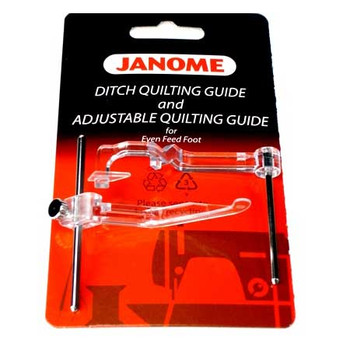 Janome Ditch Quilting Guide and Adjustable Quilting Guide