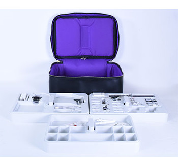 Janome 9mm Foot Accessory Storage Case - Black (Presser Feet Not Included)