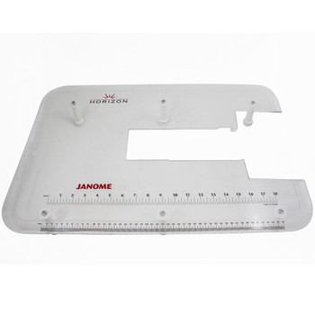 Janome Acrylic Extension Table for MC7700, MC8200, MC8900