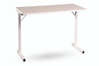 Fashion Sewing Cabinets 295 Utility Folding Sewing Machine Table in White