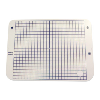 """Janome Hoop Template only 240mm x 200mm (9.45"""" x 7.87"""") for the MB4, M1 Hoop"""