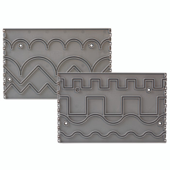 Grace Plastic Pattern Perfect Template-Basic Set for Grace Gracie King & Queen Quilting Frame