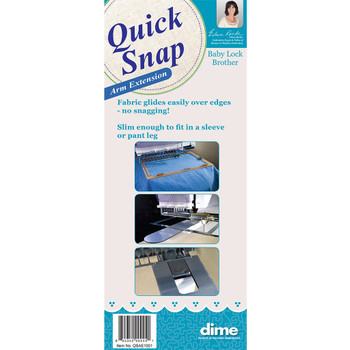 Quick Snap Arm Extension Fits Brother Babylock 6 Needle Embroidery