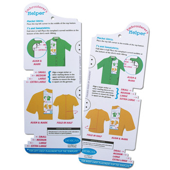 Embroiderer's Helper - Shirt Placement Tool