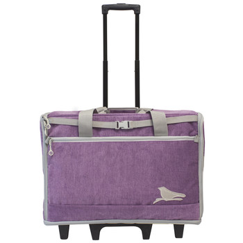 """BlueFig DS23 Wheeled Travel Bag 23"""" In Songbird Purple"""