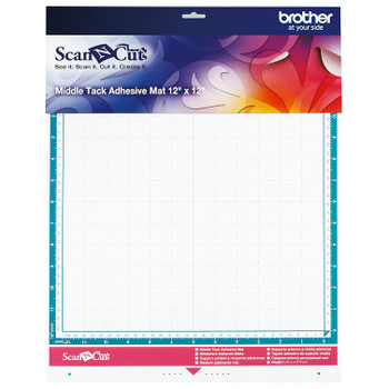 "Brother ScanNCut Middle Tack Adhesive Mat 12"" x 12"""