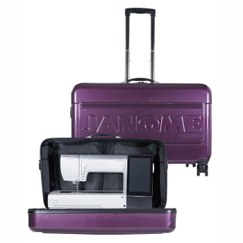 Janome MC 15000 Hard Roller Case