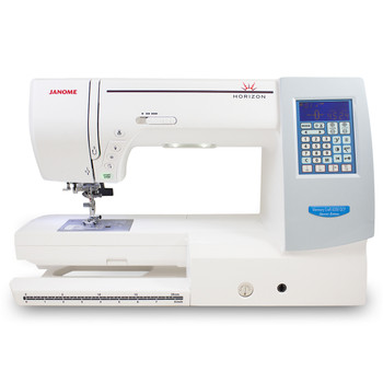 Janome Memory Craft Horizon 8200QCP Special Edition (Refurbished) - Front view 2