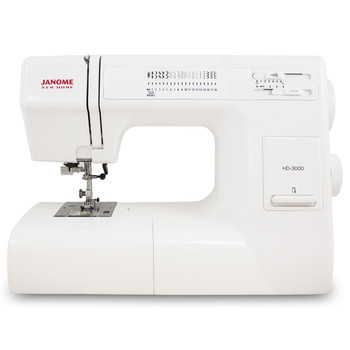 Janome HD3000 Refurbished Sewing Machine - Front