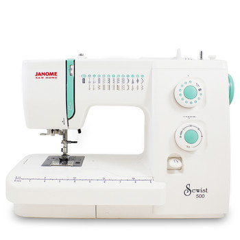 Janome Sewist 500 Refurbished Sewing Machine - Front