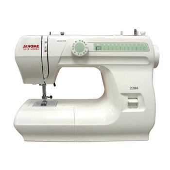 Janome 2206 Sewing Machine (Refurbished) - Front view