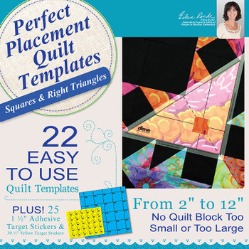 Perfect Placement Quilt Templates – Squares and Right Triangles