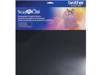 Brother ScanNCut Embossing Template Sheets