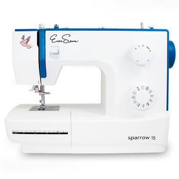 EverSewn Sparrow 15 – 32 Stitch Refurbished Mechanical Sewing Machine