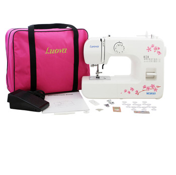 Luova SC1610 Sewing Machine with Bonus Bundle