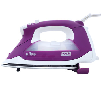Oliso TG1100 Smart Iron, Orchid-Purple Limited Edition - Safety feature extends when not in use!