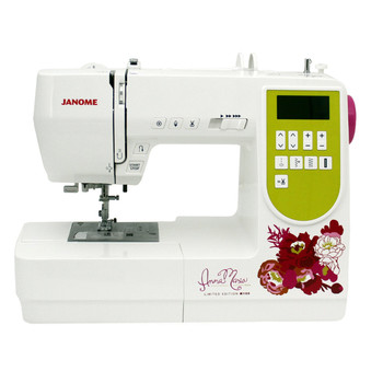 Janome AMH M100 Computerized Sewing Machine (Customer Return) - Front