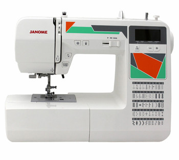 Janome MOD-50 Computerized Sewing Machine - Front View