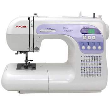 Janome DC 3050 Computerized Sewing Machine - Front View