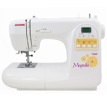 Janome Magnolia 7360 Sewing Machine Refurbished