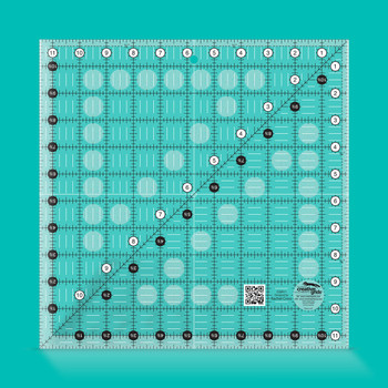 Creative Grids Quilt Ruler 11-1/2in Square