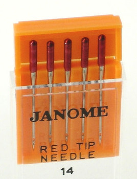 Janome Red Tip Needles (Size 14)