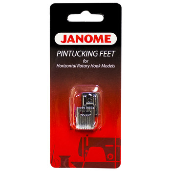 Janome Top-Load - Pintucking Foot Set