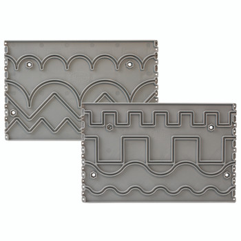 Grace Plastic Pattern Perfect Template (Basic Set)  for Pinnacle frame
