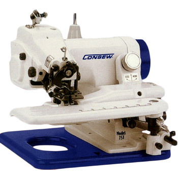 Consew 75T Table Top Industrial Blind Stitch Machine