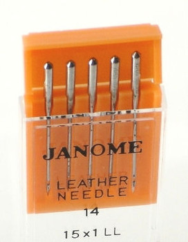 Janome Leather Needles (Size 14)
