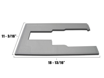 """Horn of America Cabinet Insert Small 11 3/16"""" x 18 13/16"""""""