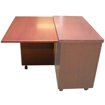 Schrocks of Walnut Creek Drop Leaf with Support in Cherry