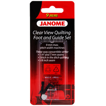 Janome Clear View Quilting Foot For 9mm Machines