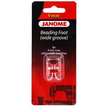 Janome Wide Beading Foot  for 9mm Machines