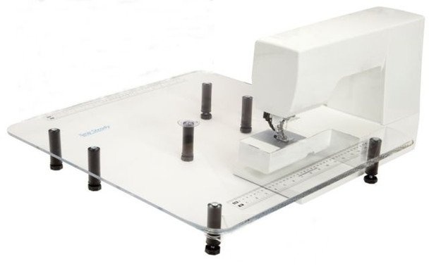 """Sew Steady Extension Table 24"""" x 24"""" Big for Sewing Use"""
