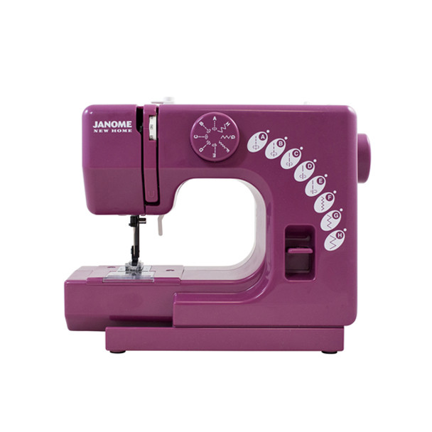 Janome Merlot Sew Mini Sewing Machine - Front View