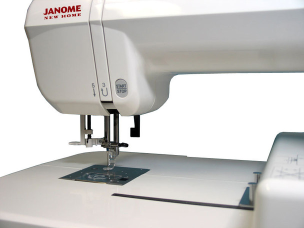 Janome Memory Craft 200E Embroidery Machine (Refurbished) - Right quarter view