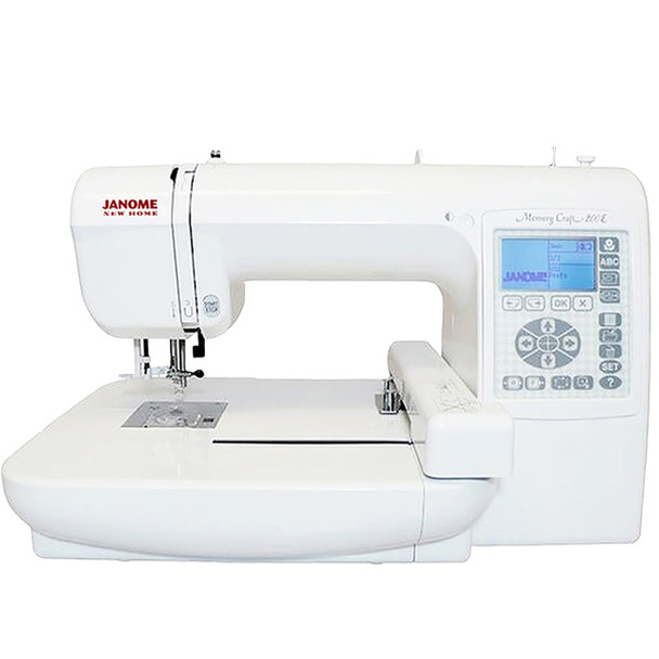 Janome Memory Craft 200E Embroidery Machine (Refurbished) - Front