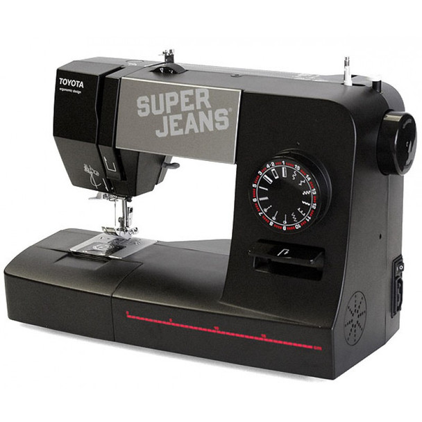 Toyota J15 Super Jeans Sewing Machine right view