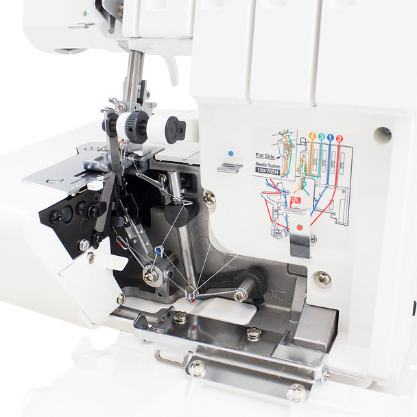 Juki MO-114D 2 Needle, 2/3/4 Thread Overlock Serger