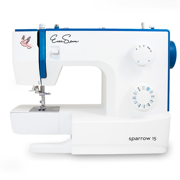 EverSewn Sparrow 15 – 32 Stitch Mechanical Sewing Machine arm