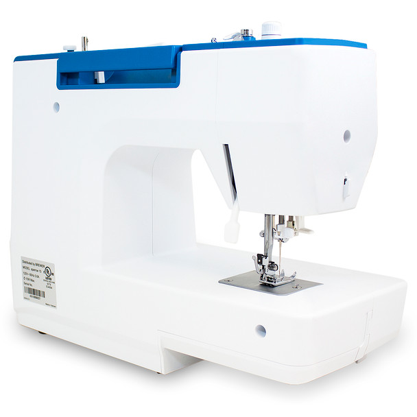 EverSewn Sparrow 15 – 32 Stitch Mechanical Sewing Machine rear view