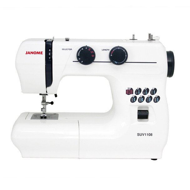 Janome SUV1108 Sewing Machine - Front View