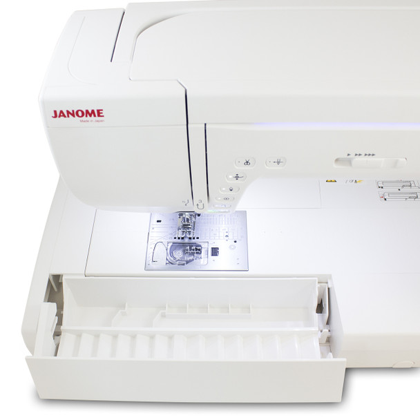 Janome Memory Craft 14000 Sewing and Embroidery Machine - LED lamp