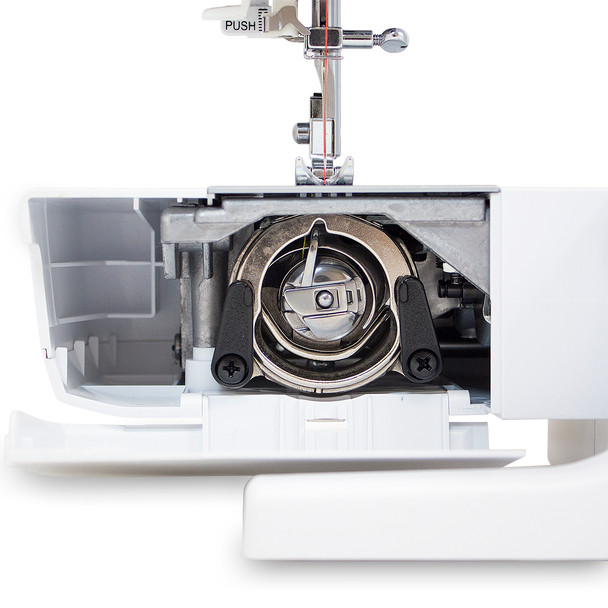 EverSewn Sparrow 15 – 32 Stitch Mechanical Sewing Machine With Quilting Bundle