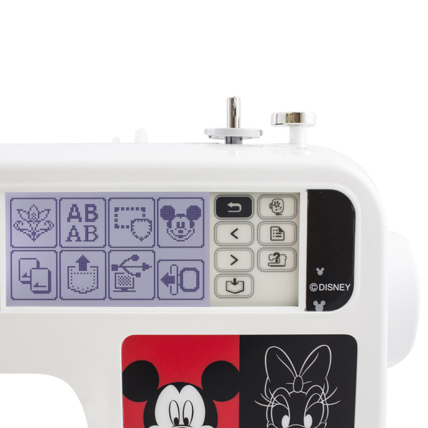 Brother PE540D Disney Embroidery Only Machine control pad