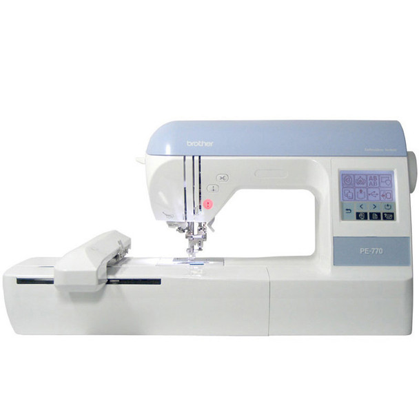 Brother pe 770 embroidery machine free shipping for Janome memory craft 200e embroidery machine reviews