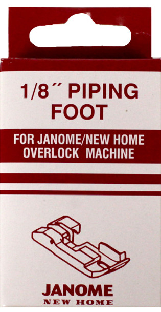 Janome Serger - 1/8 Inch Piping Foot