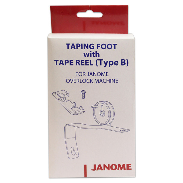 Janome MyLock Serger Taping Foot with Tape Reel (Type B)